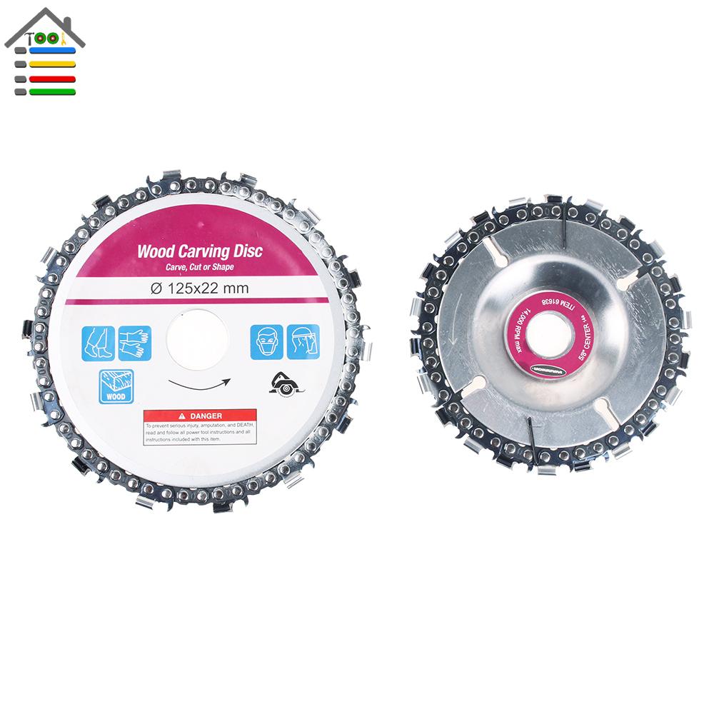 125mm 4 Zoll Grinder Disc Und Kette 14 Zahn Fine Cut Chain Für Winkelschleif