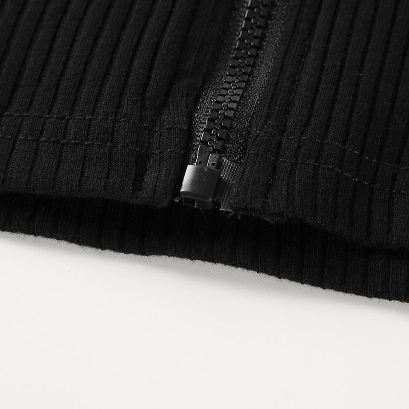 13Sweetown Vogue Off The Shoulder Long Sleeve Crop Tops T Shirt For Women Sexy Korean Style Summer Autumn Black Harajuku Tshirt
