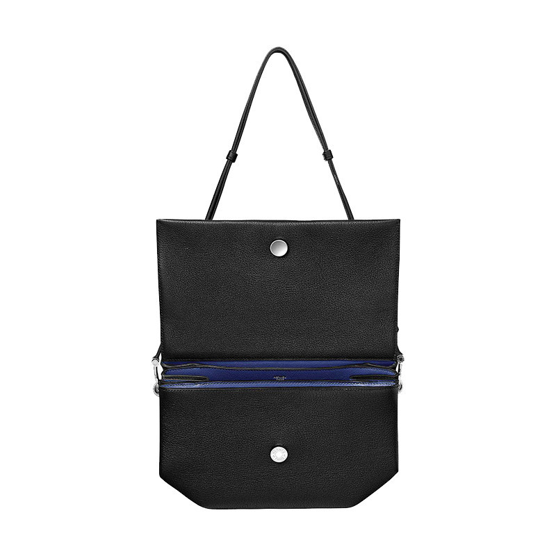 /  Ms. Opli 28 Shoulder Bag Black/Ink Blue H071931CKAO-BA11