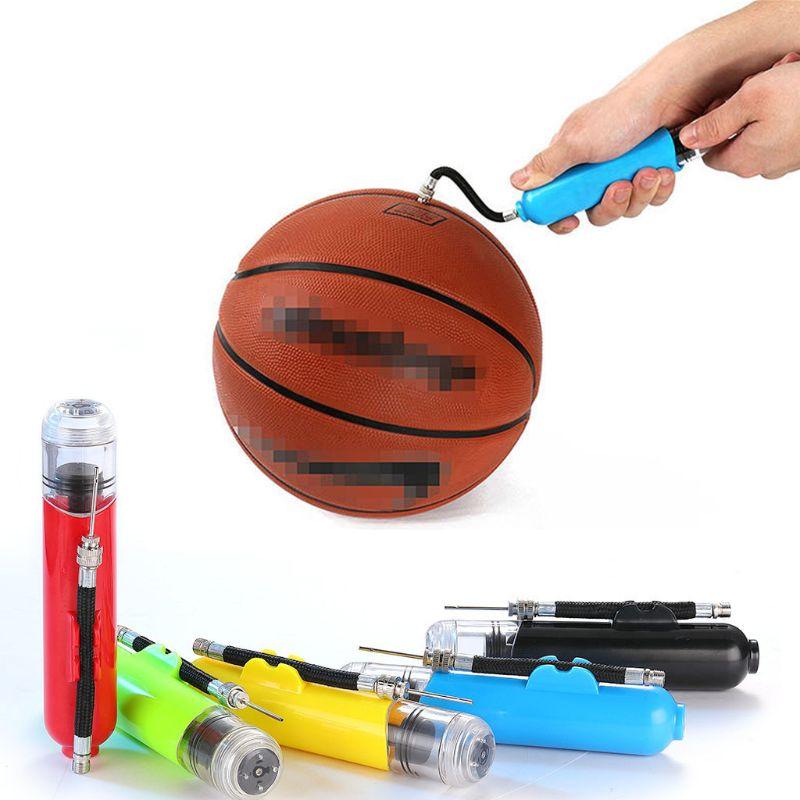 """12/"""" gonflement Main Pompe à air avec aiguille pour Football Rugby Basket Balls"""