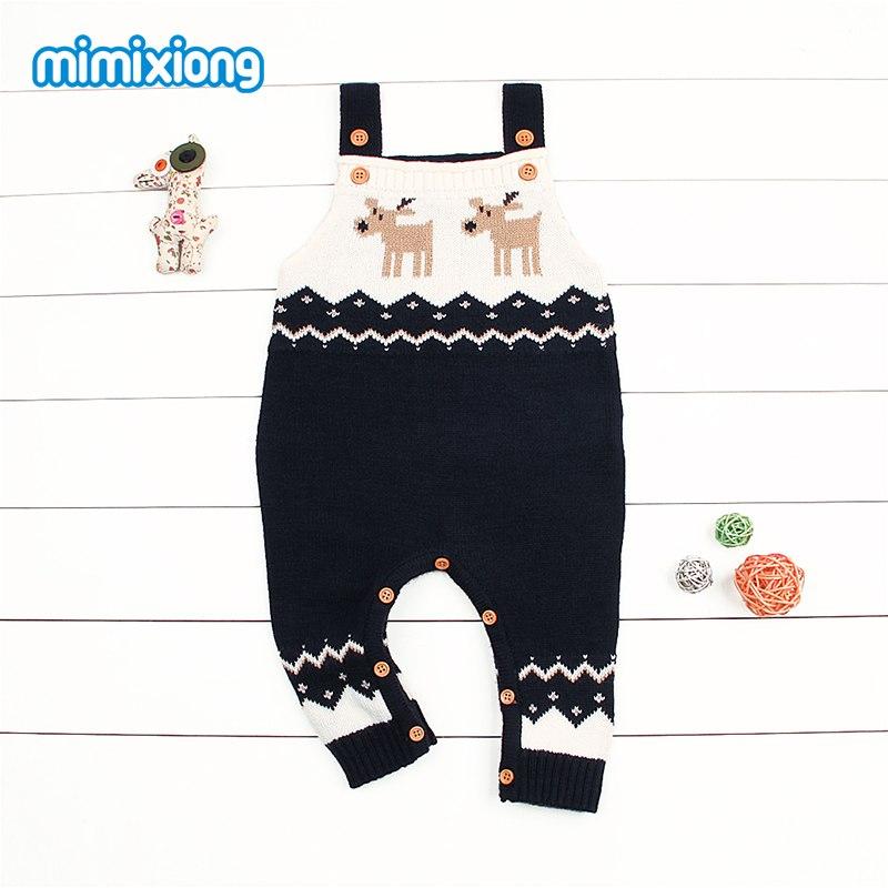 Christmas Costume For Kids Baby Boys Girls One Piece Jumpsuits Sleeveless Newborn Children Rompers Onesie Autumn Winter Outwear