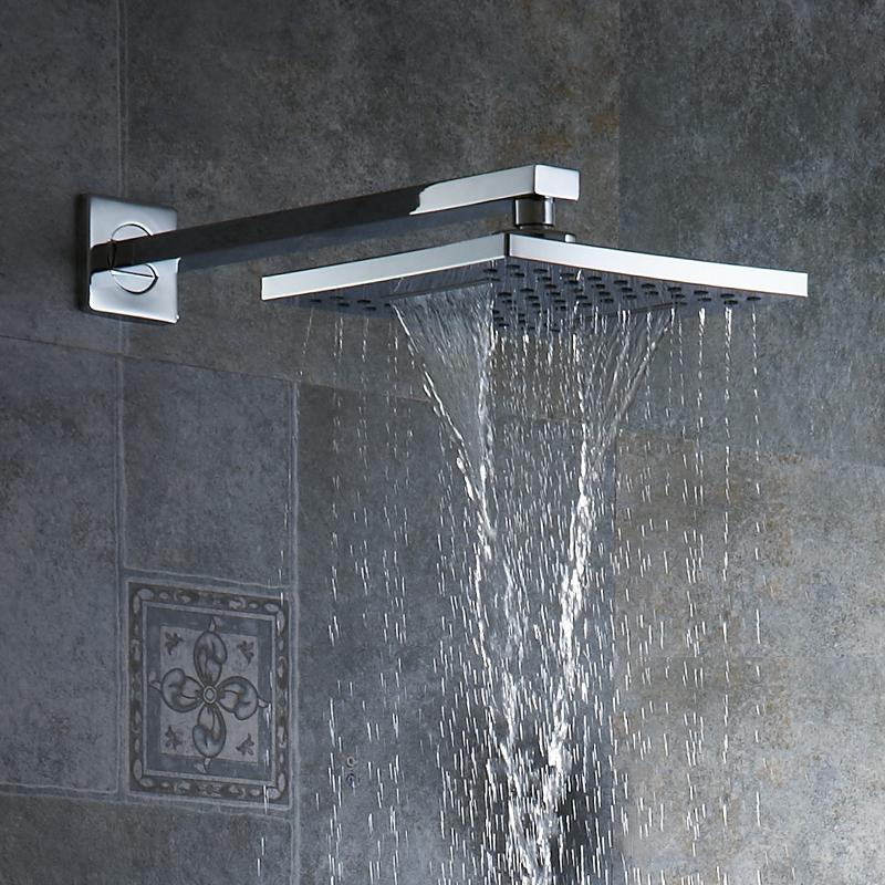 doccia a mano a spruzzo multi Recentemente Stati Uniti Trasporto libero allingrosso e al minuto ottone antico miscelatore doccia rubinetto Set con 8 pollici doccia testa