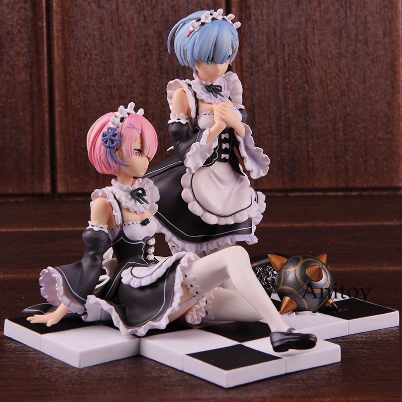 Re:Zero Ram Sitting 1//8 Scale Figure