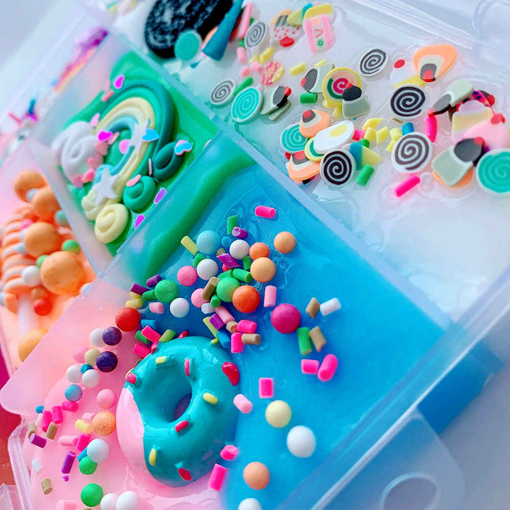Slime charms Cute Dessert Bread Charms for Slime Filler Cake Ornament Phone Decoration Charms Slime Supplies Toys 43