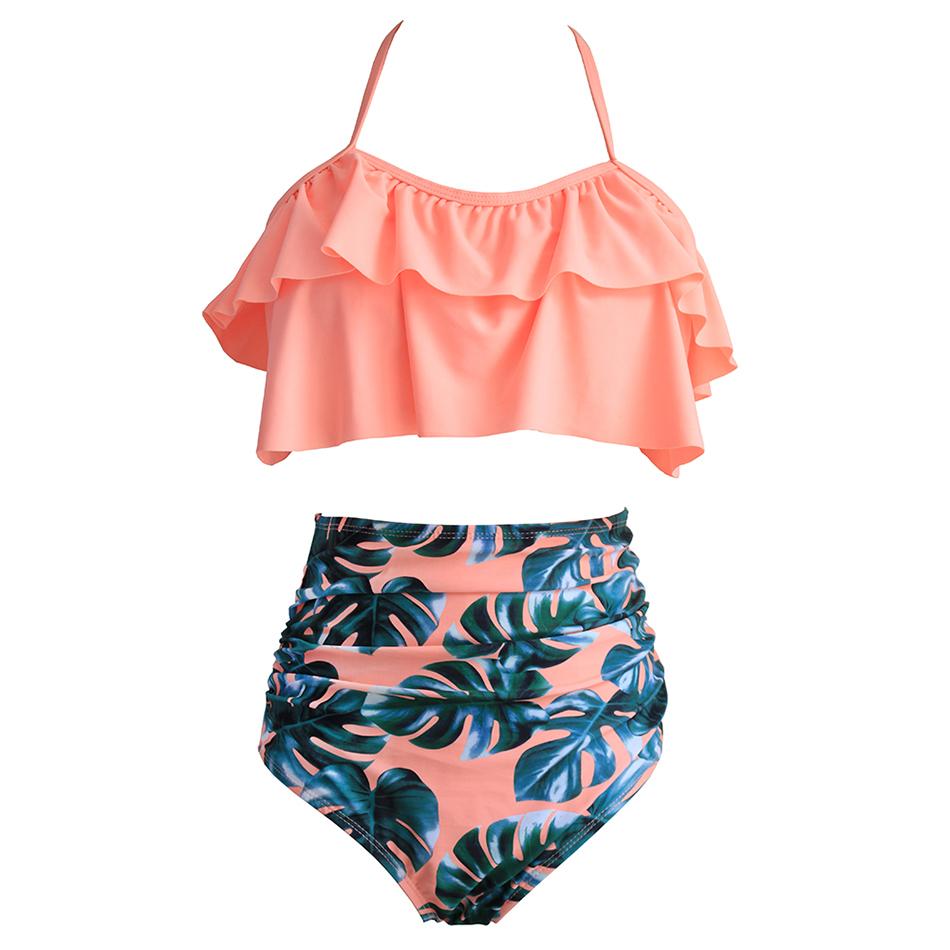Yüksek Bel Bikini Seksi 3xl Kadın Mayo 2019 Artı Boyutu Mayo Kadınlar Brezilyalı Mayo Y19072301 Bikini Set Yüzme Şınav
