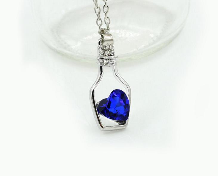 Always Necklace Professor Severus Snape bottle of Tears Necklace HP Necklace