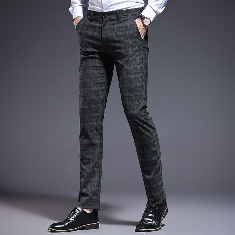Homme nouveau Blanc Regular Fit Smart Casual Formel Mariage Twill Pantalon