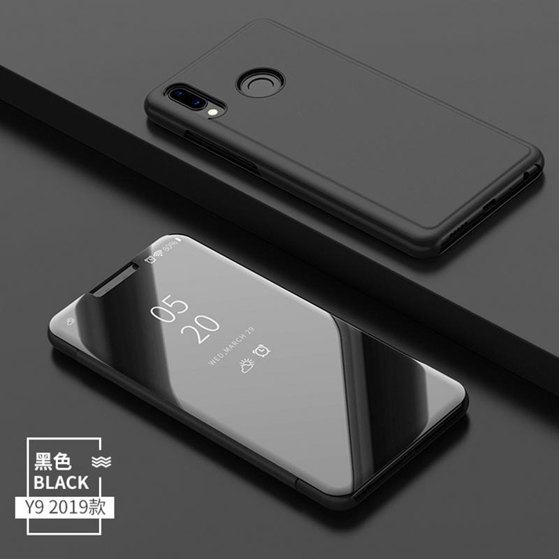 Capa de telefone de luxo Transparente Espelho Virar para Samsung S10 Além disso Huawei redmi