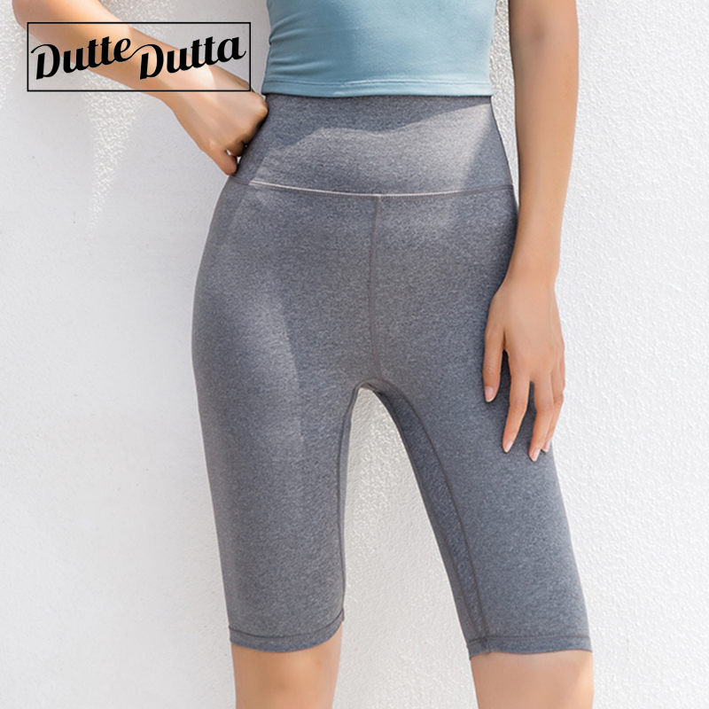 NUOVO Donna Donna Ragazze Plain Stampato Da Palestra Yoga Danza Attivo Pantaloncini Ciclismo