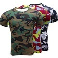 New High Quality Camouflage Military Compression T Shirt Tights Fitness Men Quick Dry Camo Long Sleeve T Shirts Crossfit Shirts
