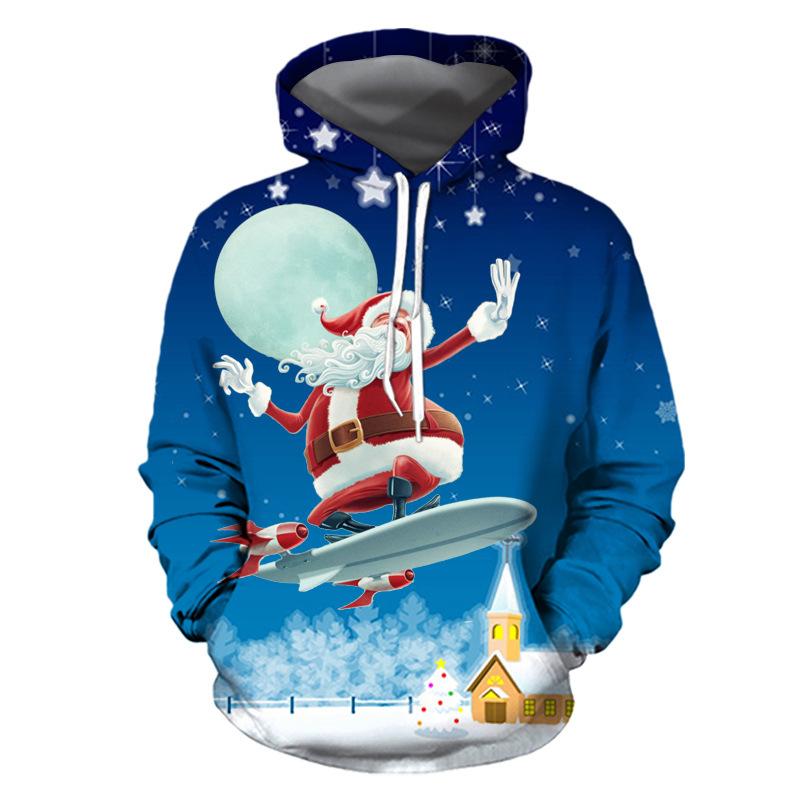 Funny hoodie Nouveauté Noël Anniversaire Sweat à capuche Haut à Capuche-Super Sweat à capuche-A3