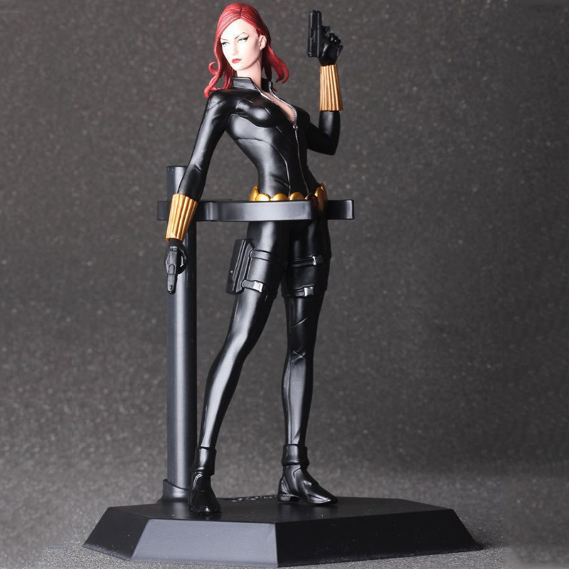 Avengers Black Widow Cartoon Figure Anime Movie Model Lovely Action Figures Collectible Model Kids Toys (6)