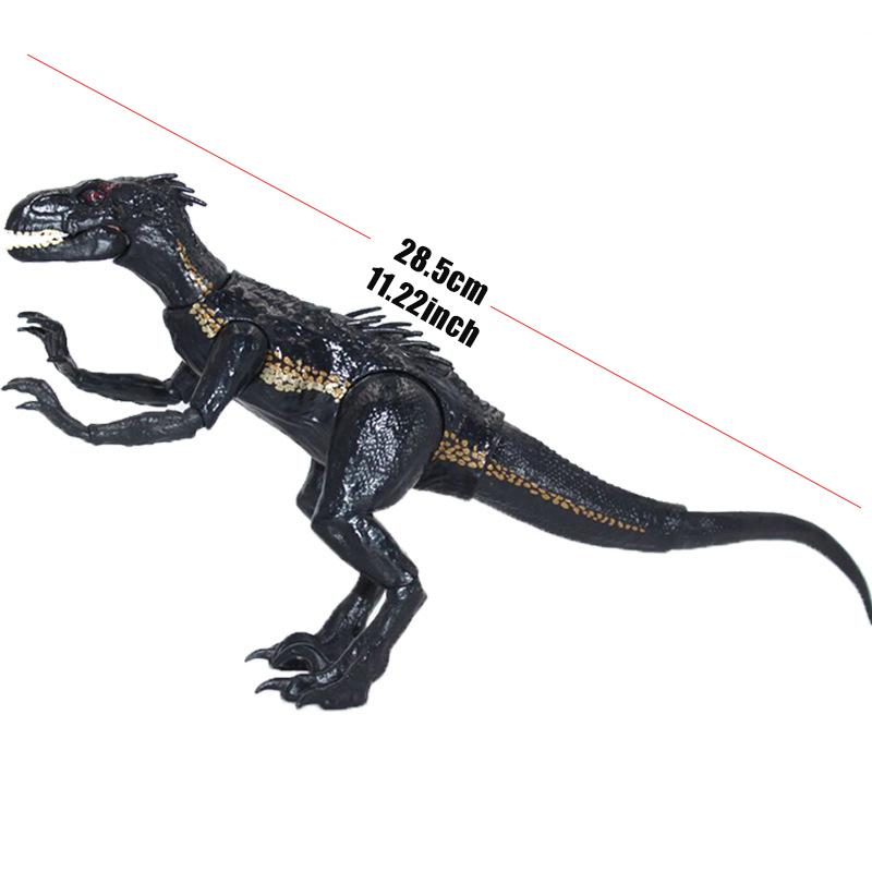 Lifelike Indoraptor Jurassic World Action Figure Adjustable Dinosaurs Toy For Boy Movie Dinosaur Model Toys Gift For Children Y190604