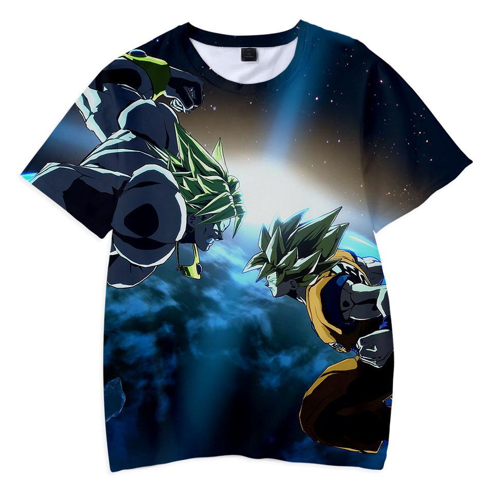 New Summer Enfants Vêtements 3d T-shirt Garçons Filles Jeu Dragon Ball T Shirt Enfants Vêtements Mode T-shirts Garçons Hauts Costume Pour Enfants Y190516