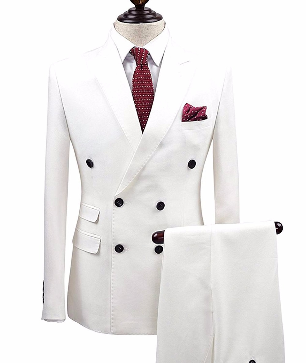 White-2-pieces-Men-Suits-Double-Breasted-Groom-Terno-Masculino-smoking-slim-fit-Men-Wedding-Suits