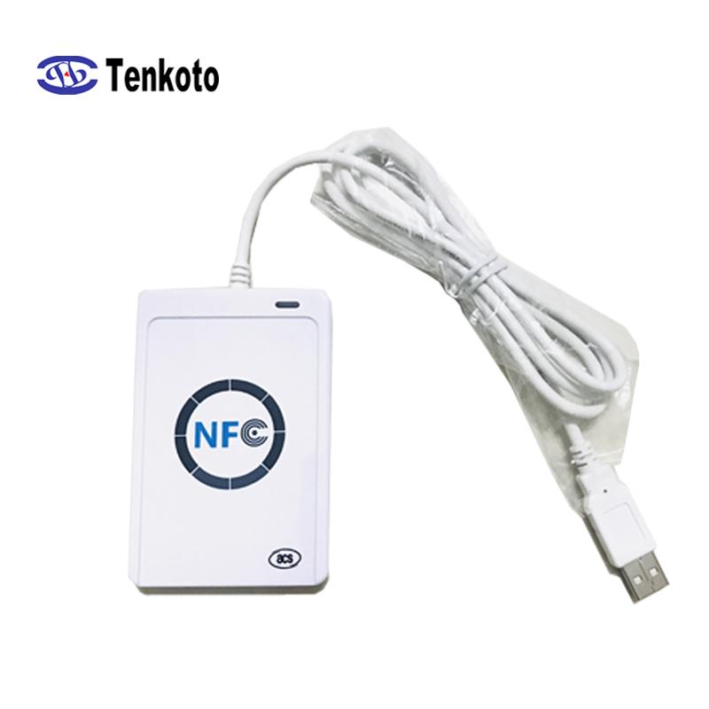DaNiu sk-658 13pcs 125khz RFID ID Card Reader Writer Copier Duplicator with 6 C
