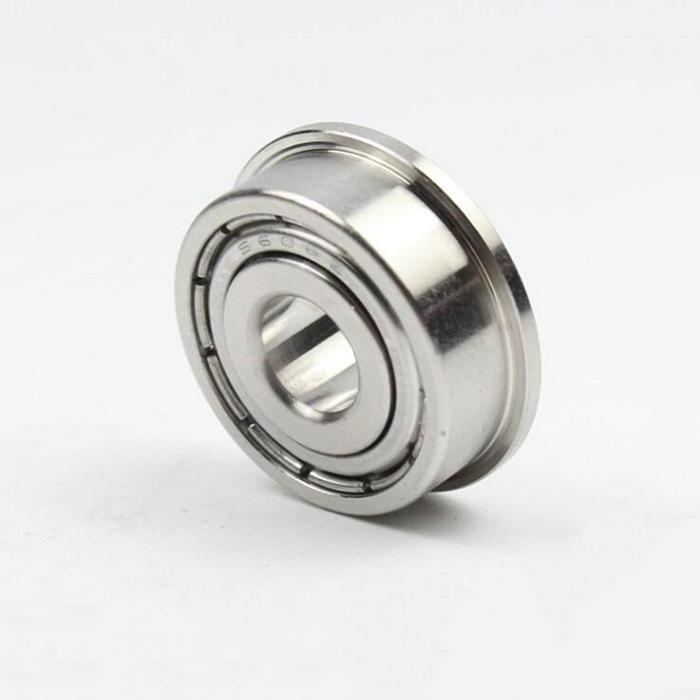 Roulements /à billes roulements /à billes /à bride en acier inoxydable MF106ZZ 6x10x3mm 10Pcs 10Pcs Mini roulements /à billes /à bride prot/ég/és en m/étal en acier inoxydable MF106ZZ 6x10x3mm