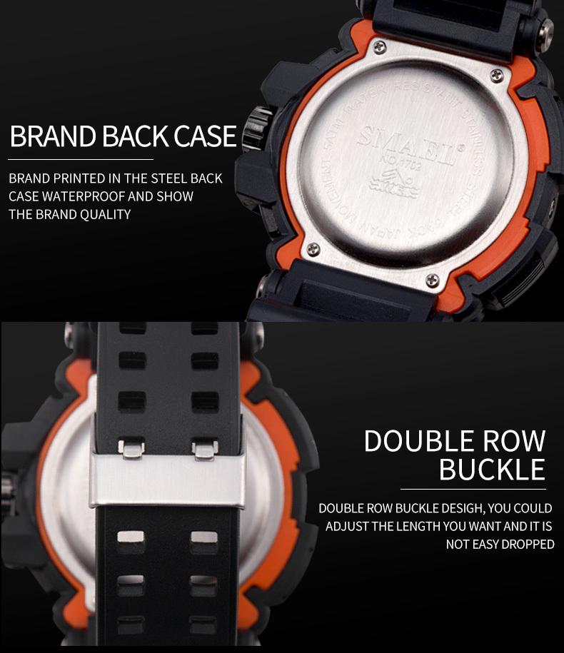 7 male watches novos
