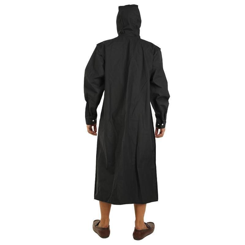Outdoor Raincoat Waterproof Eva Adults Thicken Hooded Raincoat Women Men Camping Travel Rainwear Rain Clothes Covers Y190313