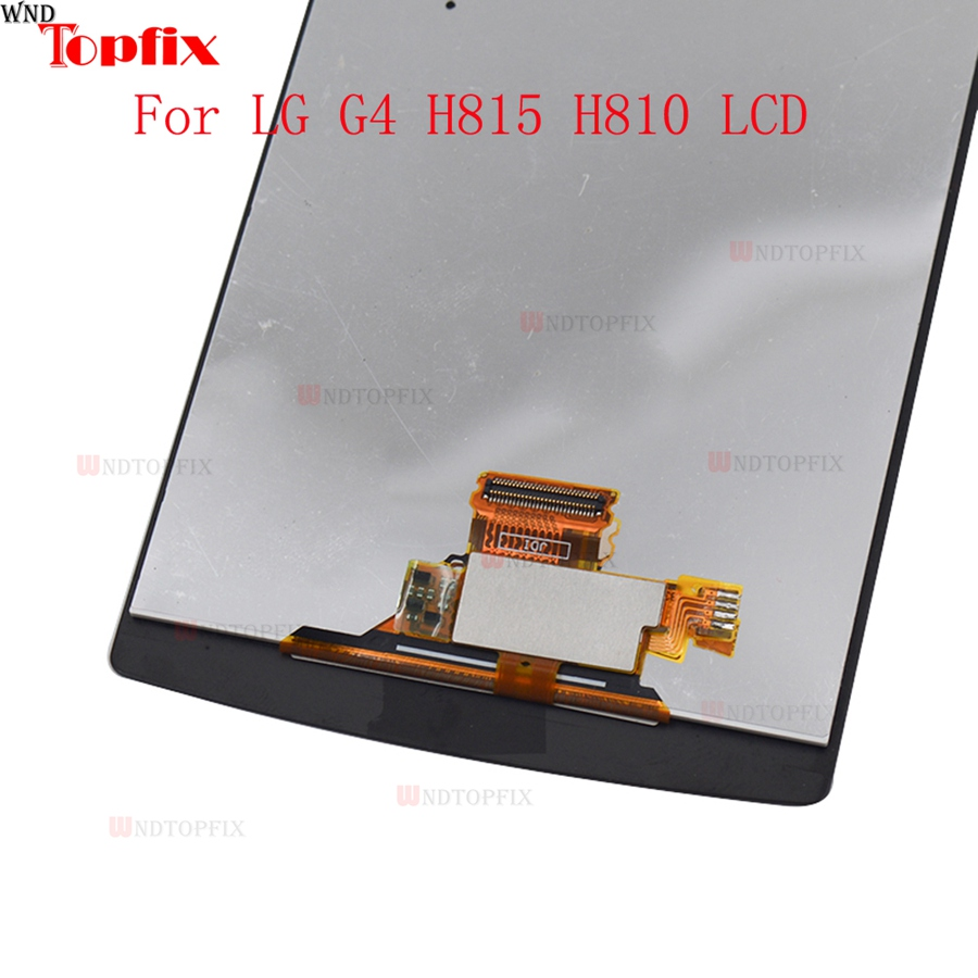 100% Tested 5.5inch LCD For LG G4 H815 H812 LCD Display Touch Screen Digitizer Assembly With Frame Pantalla Replacement Parts (2)