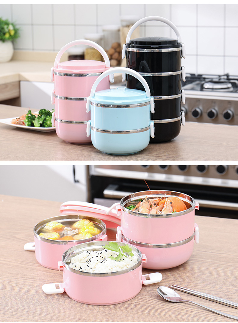 304 stainless steel multi-layer insulated lunch box 40