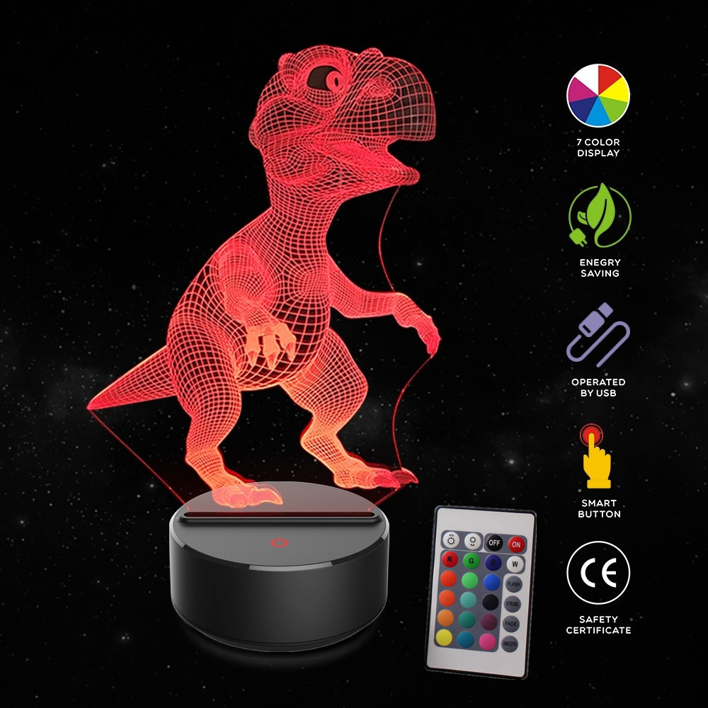 Dinosaur-Toys-3D-Visual-Illusion-Lamp-Child-of-light-Glow-in-the-Dark-Novelty-Fancy-Toys