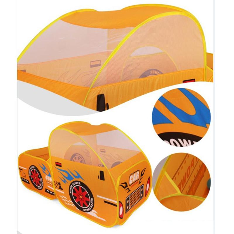 Baby Play Tent Car Model Play Outdoor Games House Ball Pool Children Tent Cute Large Play Tent Kids Outdoor Toys For Children