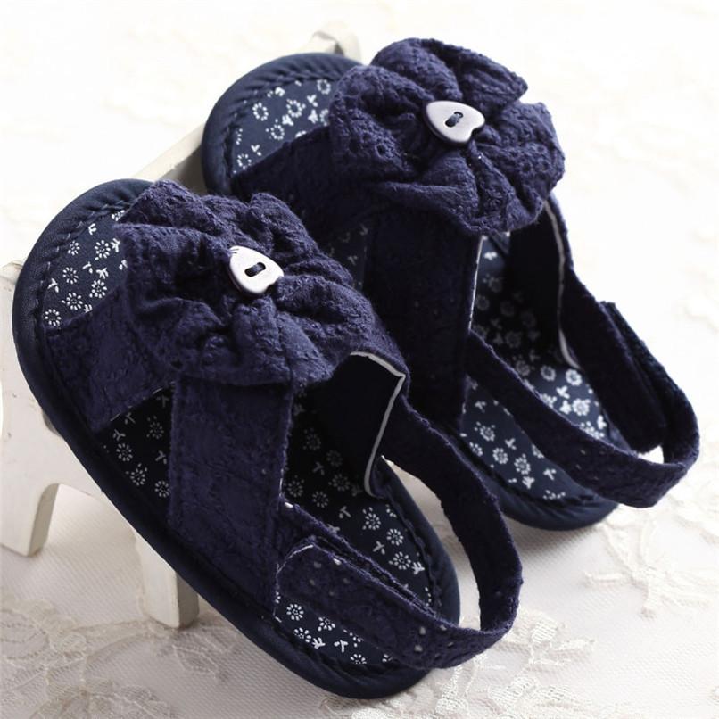 Summer Baby Girl Sandals Toddler Baby Flower Princess Cotton Fabric Sandals Girls Kid Shoes NDA84L25 (8)