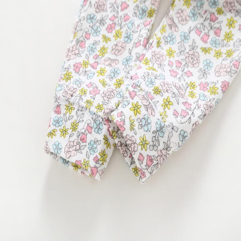 6-24 Month Newborn Outfits Clothing Set For Infant Baby Boy Girl Cute Cartoon Unicorn Bodysuit+romper+pants Cotton Y19061303