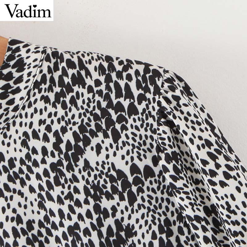 mulheres por atacado estampa de leopardo vestido midi padrão animal manga longa O pescoço casaul vintage feminino QC853 elegantes vestidos Vestidos