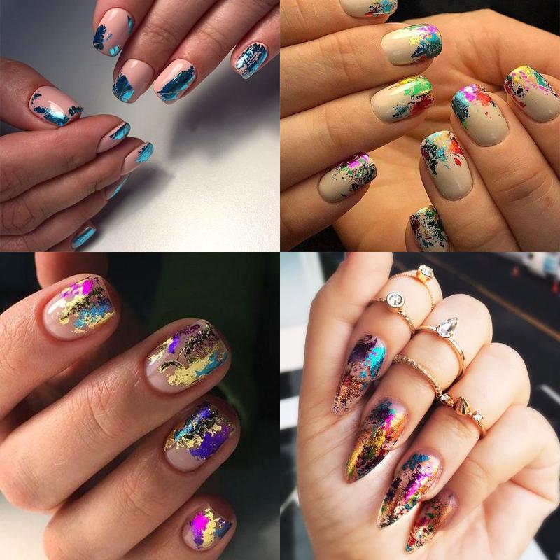 nail-decoration-nail-foil