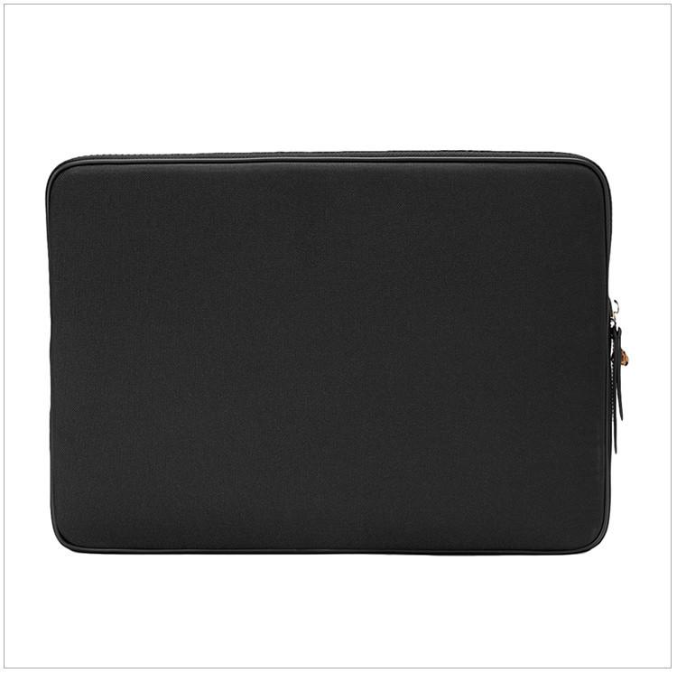 Neutral Black Tiger Head Print Laptop Bag Black Black Black Black