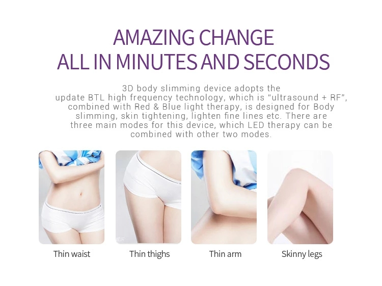 homeuse Body Relax Massager Slimming Machine electronic handheld Anti Cellulite infrared body care Slimming Massager machine