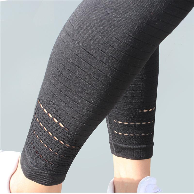 Fener Spor Kadınlar Koşu Yoga Pantolon Spor Spor Yüksek Bel Tayt Egzersiz Gym Sıkıştırma Tayt Pantolon Pantolon T190728