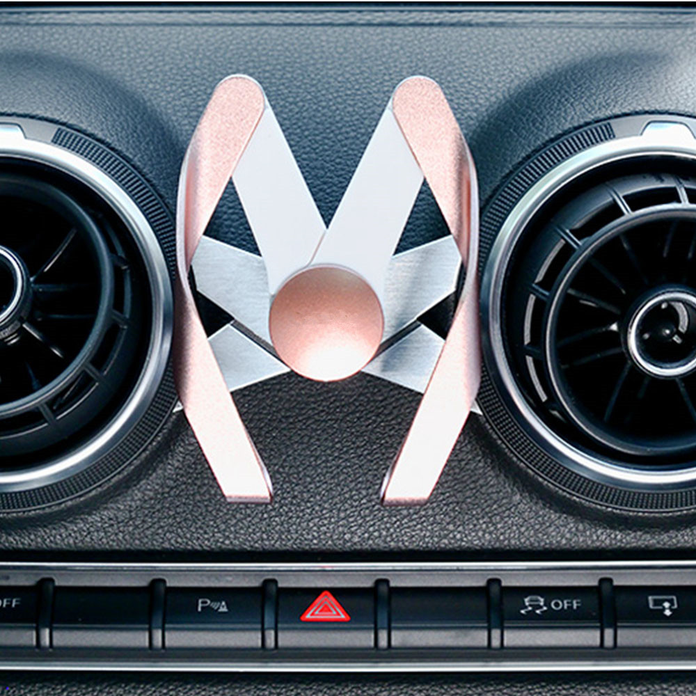M Shape mobile phone holder car Air Vent