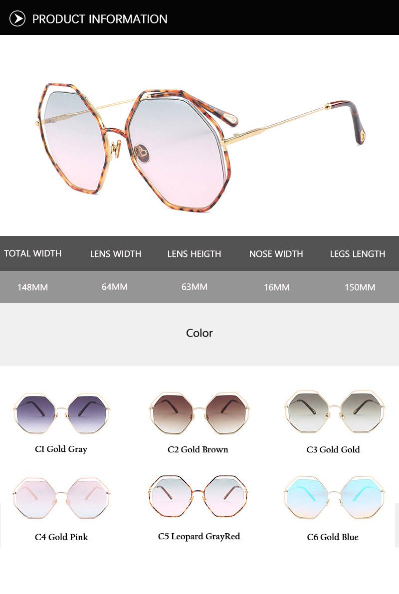 2018 News Goggle Rimless Sunglasses (21)