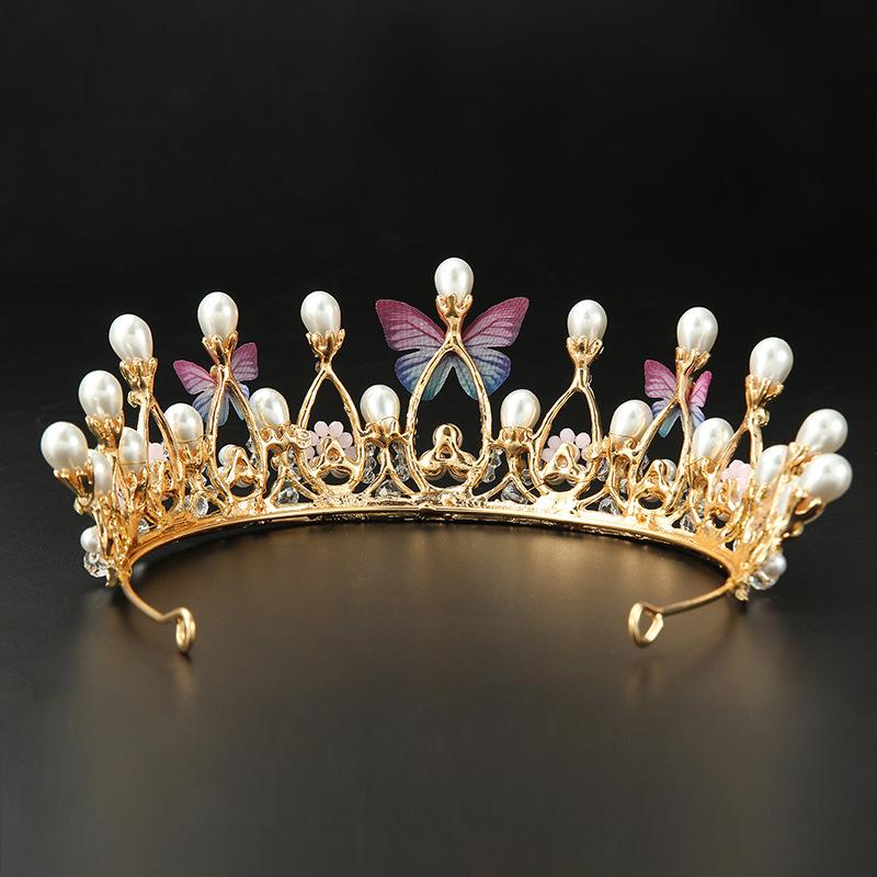 pearl tiaras