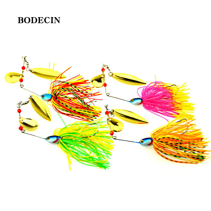 1PS Fishing Lure Wobblers Lures Wobbler Spinners Spoon Bait For Pike Peche Tackle All Artificial Baits Metal Sequins Spinnerbait (6)