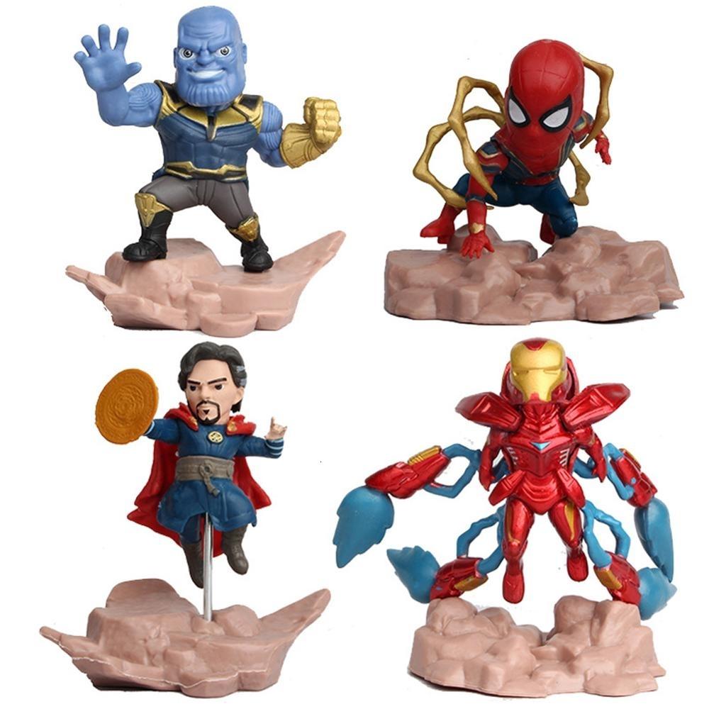Marvel Avengers Iron superhéroe novedad nuevo caso en forma de Man Niños Niño Kit Regalo Juguete