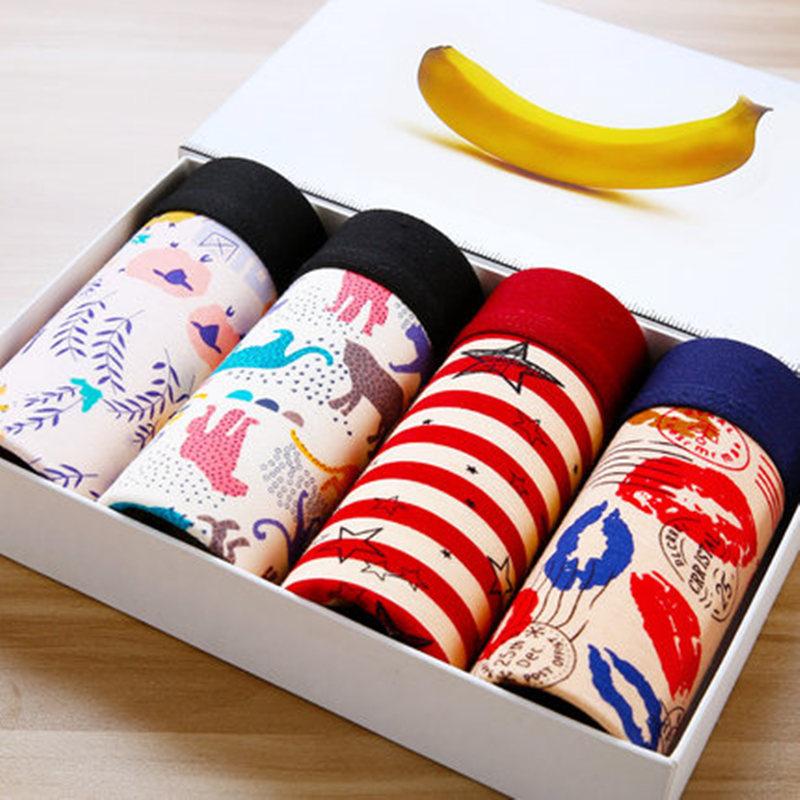New-4pcs-Fashion-Mens-Underwear-Body-Fit-Breathable-Boxer-Sexy-Print-Boxers-Color-modal-Underwear-4PCS (1)
