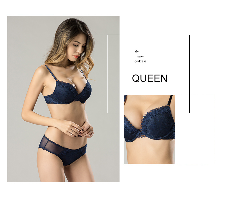 a1c75e2bc1c1 women bra sexy lingerie soft bra for lady adjustable female intimates  underwear 3/4 cup lace bra with wire push up for girl