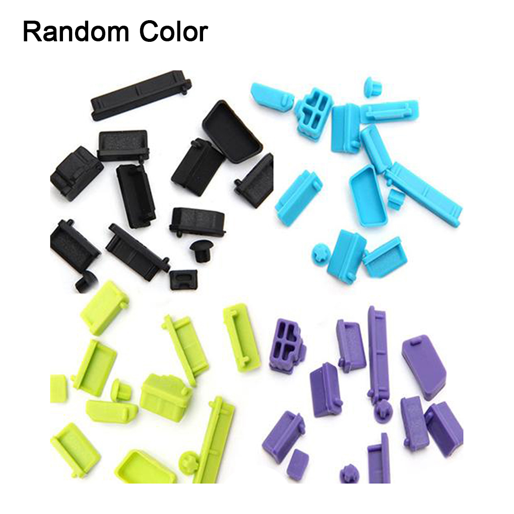 Silicone Elastic Anti-dust Laptop Port Protector Dustproof Notebook Computer Port Plug Cover Stopper T190619