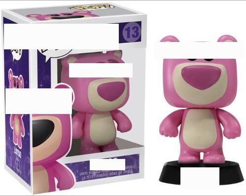 Neu Erdbeerbär Lotso Actionfigur Kind Funko Pop Spielzeug Mit Box 13 #