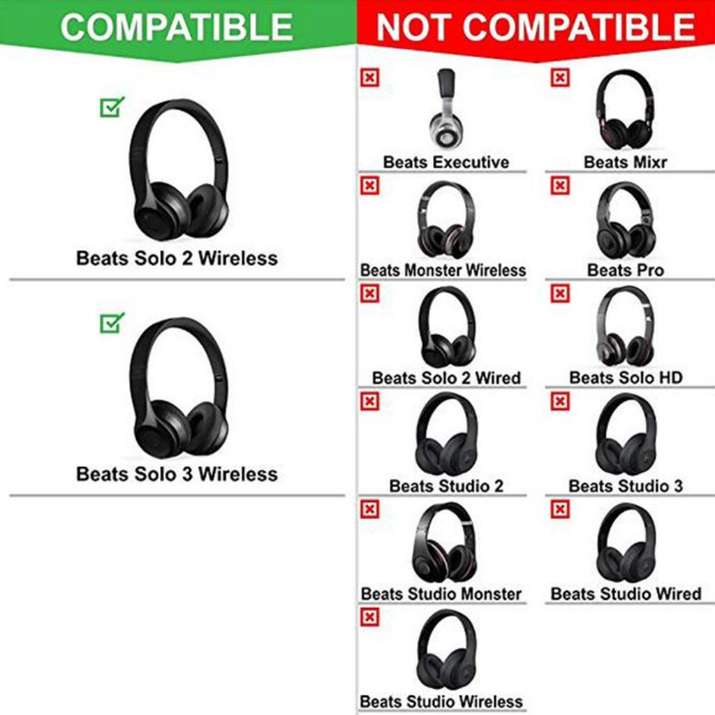 Protectors Earpads Ear Pads Earphones Dust Bag For Plantronics Backbeat Solo3 / 2 Wireless Headphone Y20