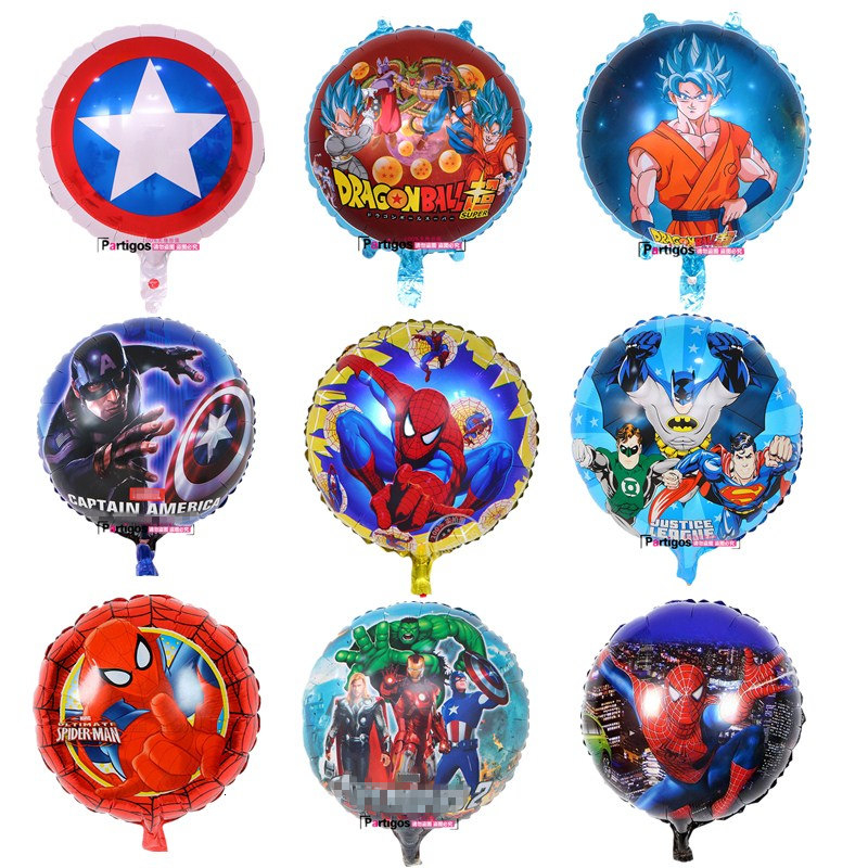 "Spiderman acción Foil Helio Redondo 18/"" ballooon Fiesta Decoración Spider Man"