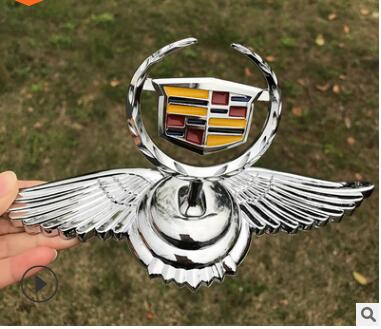 Chrome Metal Car Front Hood Ornament Sticker Badge Decal Emblem Fit for Buick