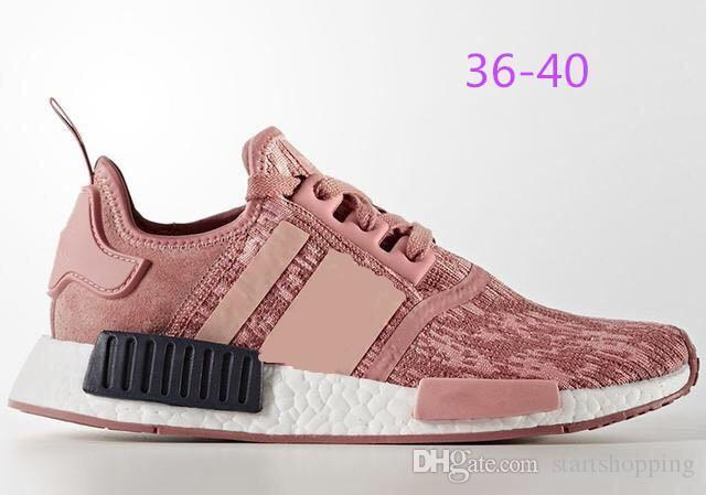 on sale c6aee 85765 2019 Nmd R1 Wholesale Discount Cheap Pink Red Gray Nmd Runner R1 Primeknit  Pk Low Men'S & Women'S Shoes Classic Fashion Sport Track Shoes From ...