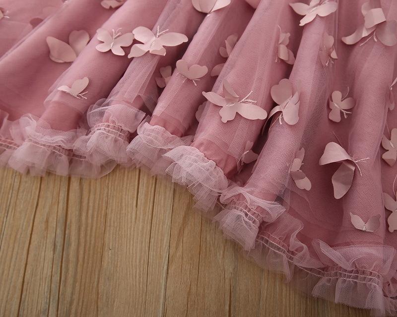 1-4-Butterfly Girl Dress
