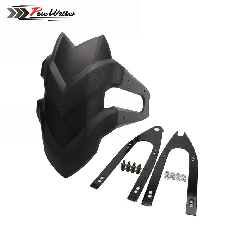 Qiilu Motorrad Hinterrad Kotfl/ügel Kotfl/ügelschutz Kotfl/ügelabdeckung mit Halterung Passend f/ür X-ADV 750 17-19