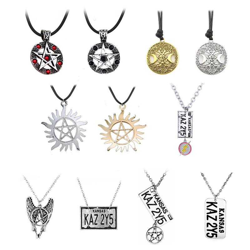 6F17 Devil PU Leather Lady Pendant Necklace Choker Jewelry Fashion Ornament Gift
